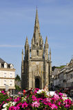 Church of Hennebont in Brittany - France Royalty Free Stock Photos