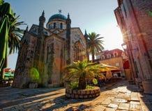 The Church in Herceg Novi Stock Image