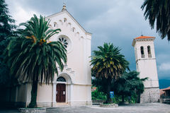Church in Herceg Novi royalty free stock photos