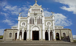 Church of heredia Stock Photography