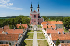 Church and hermitages Royalty Free Stock Photos