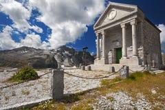 Church in high mountain Stock Photos