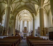 THE CHURCH On THE HIL. In sighisoara Romania Royalty Free Stock Image