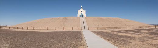 Church on the Hill Royalty Free Stock Photos