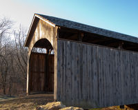 Church Hill Road Covered Bridge Royalty Free Stock Photo