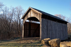 Church Hill Road Covered Bridge Royalty Free Stock Images