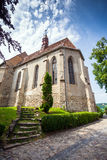 Church of the Hill from Sighisoara medieval city Stock Images