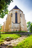 Church of the Hill from Sighisoara medieval city Royalty Free Stock Image
