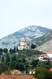 Church on a hill in Trebinje Royalty Free Stock Image
