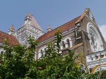 Church in the historic city Galle on Sri Lanka Stock Photo