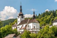 Church Historic Mining Village Spania Dolina Royalty Free Stock Photography