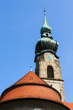 Church of Hochst royalty free stock photo