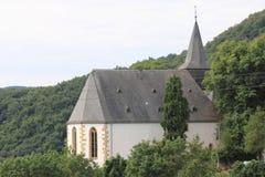 Church  Hochstetten-Daun. The Collegiate Church of St Johannisberg in Hochstetten-Dhaun, Germany Stock Image