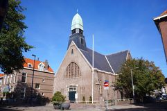 Church in Hoek van Holland, the Netherlands royalty free stock image