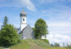 Church at Hoher Peissenberg Royalty Free Stock Image