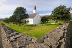 Church in Holar, Iceland Royalty Free Stock Photo