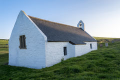 Church of the Holly Cross Mwnt Cardigan Ceredigion Wales Stock Photo