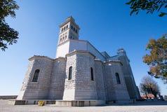 Church of holly mountain. Church of sveta gora - Holy Mountain in Slovenija Stock Images