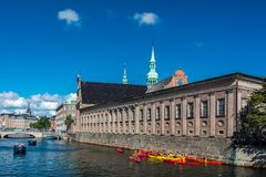 The church of Holmen in Copenhagen royalty free stock images