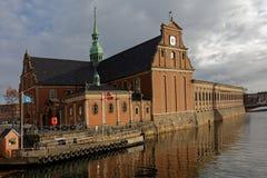 Church of Holmen in Copenhagen, Denmark Stock Image