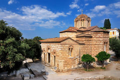 Church of the Holy Apostles in Athens Royalty Free Stock Photography