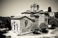 Church of the Holy Apostles, Athens Stock Photo