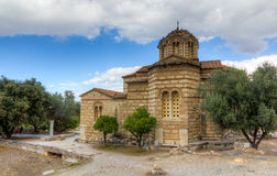 Church of the Holy Apostles, Athens, Greece Stock Images