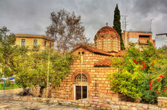 Church of the Holy Apostles in Athens Royalty Free Stock Photo