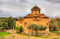 Church of the Holy Apostles in Athens Royalty Free Stock Photos