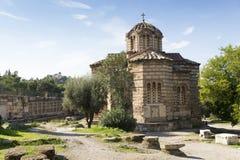 Church of the Holy Apostles Stock Photo