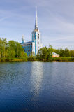 Church of the Holy apostles Peter and Paul in Yaroslavl, Russia. Golden ring of Russia Stock Photography