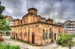 Church of the Holy Apostles in Thessaloniki Stock Photography