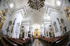 Church of the Holy Cross (Bazylika Swietego Krzyza) in Warsaw, P Stock Photo