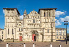 Church of Holy Cross in Bordeaux - France Royalty Free Stock Photos