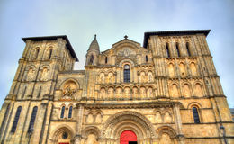 Church of the Holy Cross in Bordeaux, France Royalty Free Stock Image