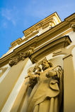 Church of Holy Cross, Cieszyn, Poland royalty free stock image