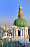 Church of Holy Cross in Kiev Pechersk Lavra Stock Photo