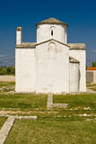The church of the Holy cross in Nin Royalty Free Stock Images
