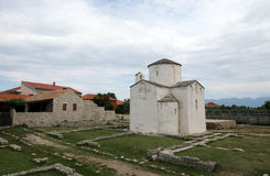 Church of the Holy cross, Nin, Croatia Stock Images