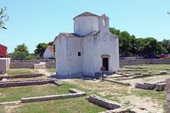 Church of the Holy Cross Stock Photo