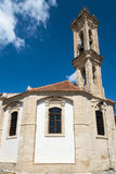 Church of the Holy Cross Omodos Cyprus Royalty Free Stock Images