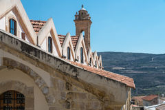Church of the Holy Cross in Omodos Cyprus Royalty Free Stock Photo