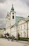 Church of the Holy Cross in Rzeszow. Poland Royalty Free Stock Photos