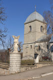 Church of the Holy Cross in Ternopil, Ukraine Royalty Free Stock Images