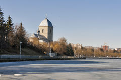 Church of the Holy Cross in Ternopil, Ukraine Royalty Free Stock Photos