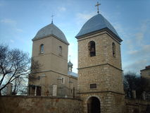 Church of the Holy Cross in Ternopol Royalty Free Stock Photo