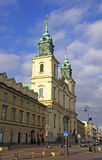 Church of the Holy Cross, Warsaw, Poland Royalty Free Stock Image