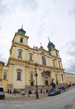 Church of the Holy Cross in Warsaw, Poland Stock Images