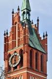 Church of the Holy family. Kaliningrad, former Koenigsberg, Russ stock photo