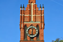 Church of the Holy family. Kaliningrad (formerly Koenigsberg), R Royalty Free Stock Image